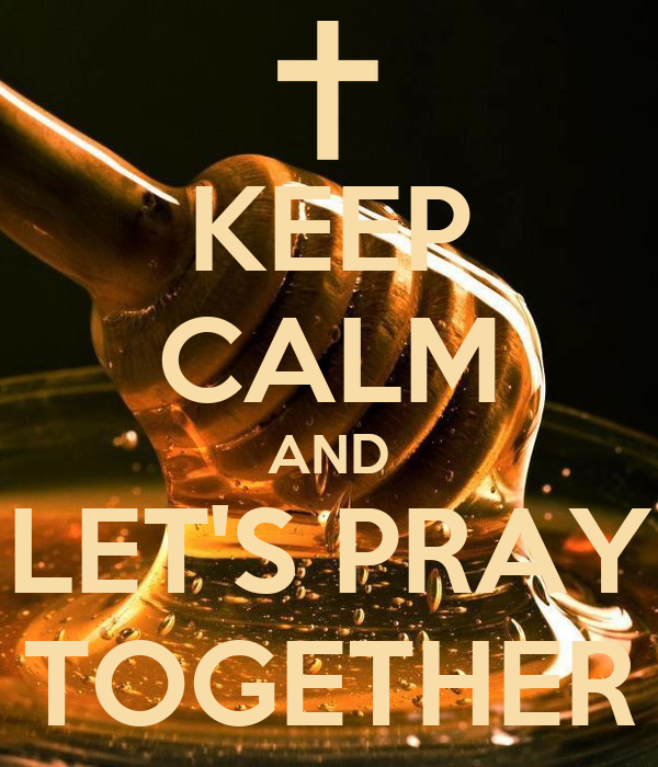 Lets pray together