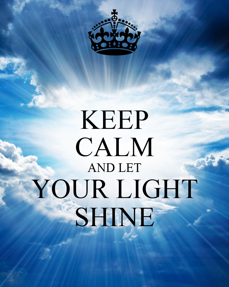 Light Shine Png And Let Your Light Shine