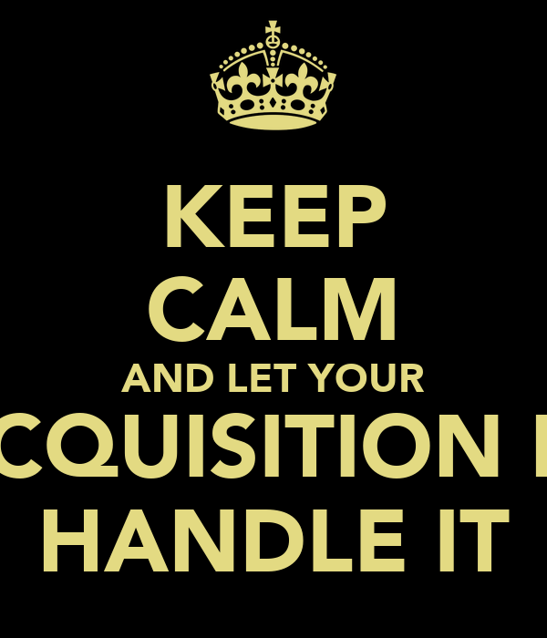 keep calm and let your talent acquisition manager handle it - Talent Acquisition Manager