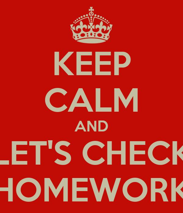 Get fit homework