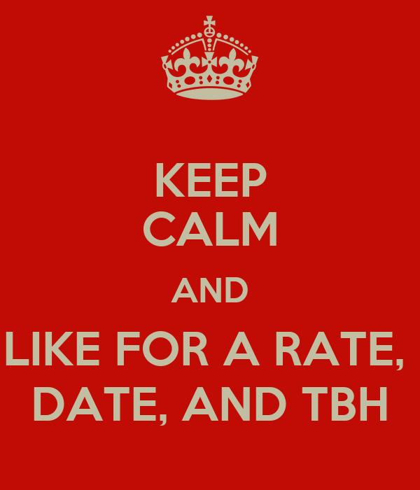 Rate date tbh in Australia