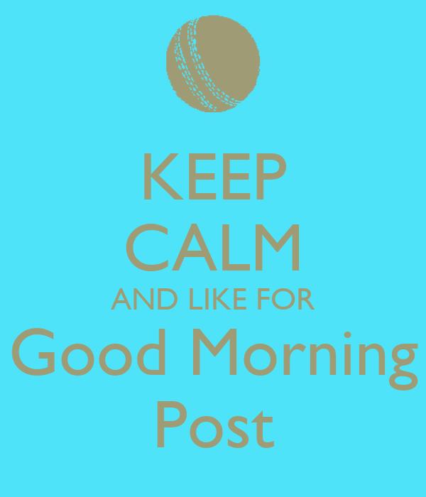 Good Morning Post Instagram