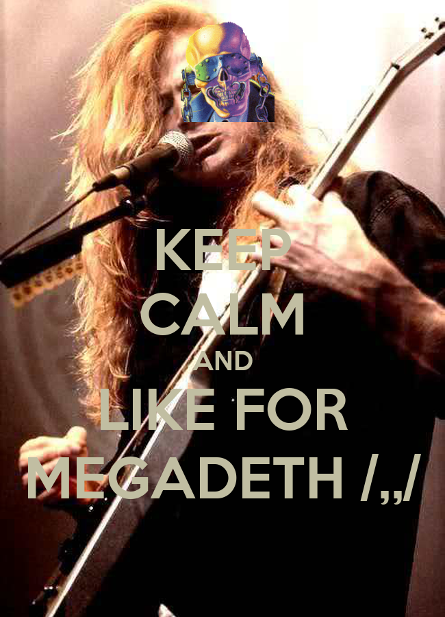 Iphone wallpaper keep calm - Gallery For Gt Megadeth Wallpaper Iphone
