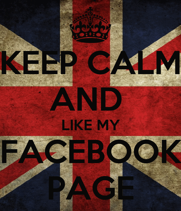 Page Like Wallpaper Keep Calm And Like my Facebook
