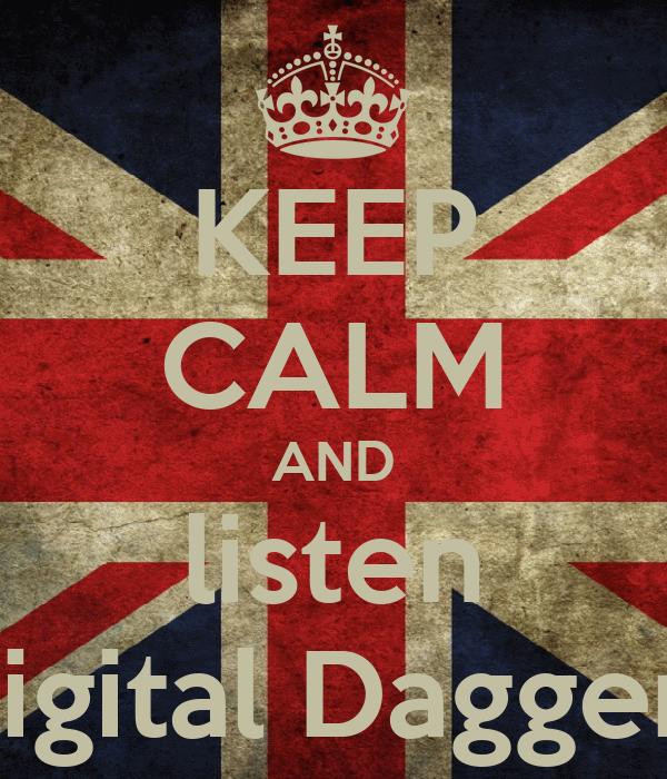 Digital Daggers Logo And Listen Digital Daggers