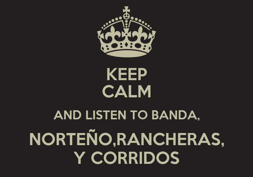 Banda Wallpaper Keep Calm And Listen to Banda