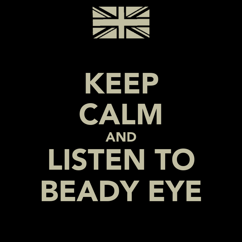 Beady Eye Logo And Listen to Beady Eye