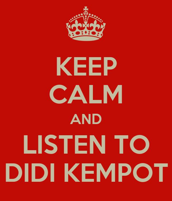 Didi Kempot Wallpaper And Listen to Didi Kempot