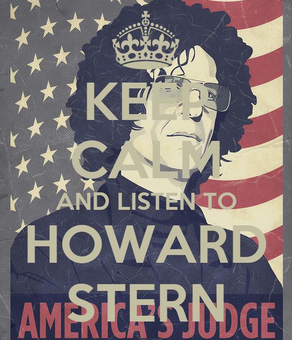 Howard Stern Wallpaper And Listen to Howard Stern