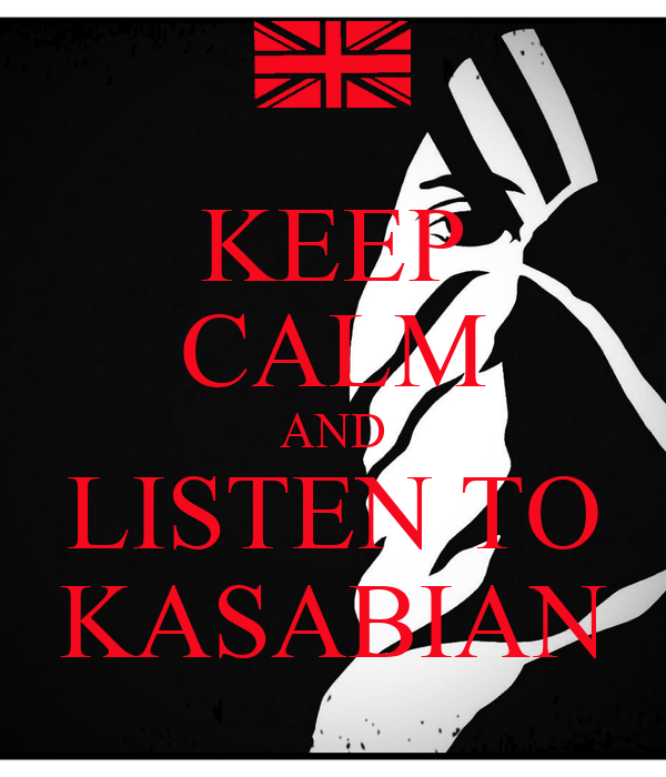 KEEP CALM AND LISTEN TO KASABIAN - KEEP CALM AND CARRY ON Image ... Velociraptor Keychain