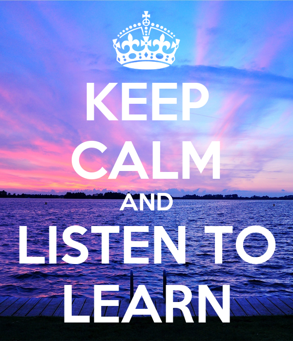 how i learned staying calm in