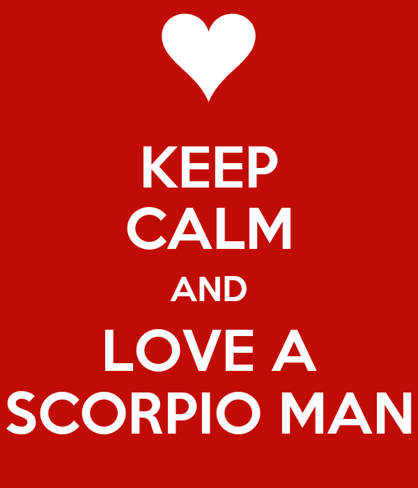 How to get to know a scorpio man