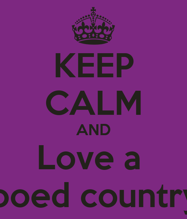 KEEP CALM AND Love a Tattooed country girl Poster | Kayla ...