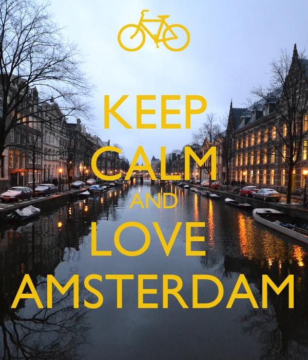 keep calm and love amsterdam poster mlol keep calm o matic. Black Bedroom Furniture Sets. Home Design Ideas