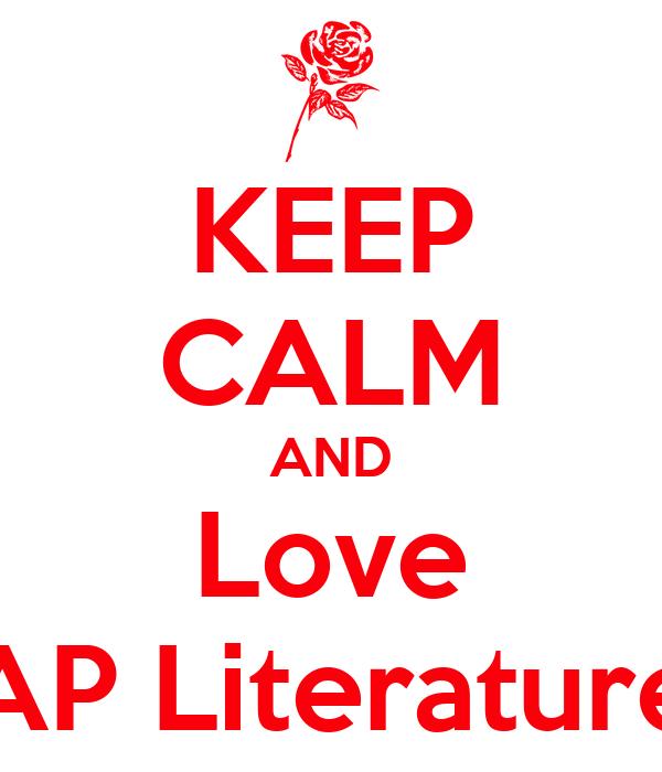AP Literature?