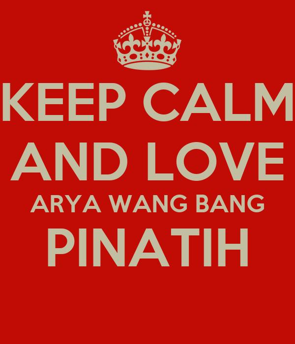 Foto arya wang bang pinatih 18