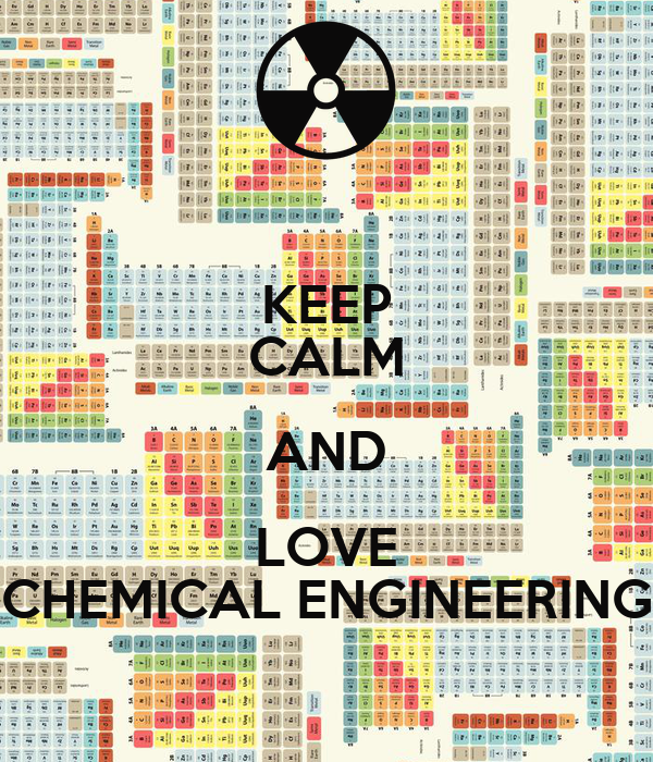 KEEP CALM AND LOVE CHEMICAL ENGINEERING Poster | giovannalima ...
