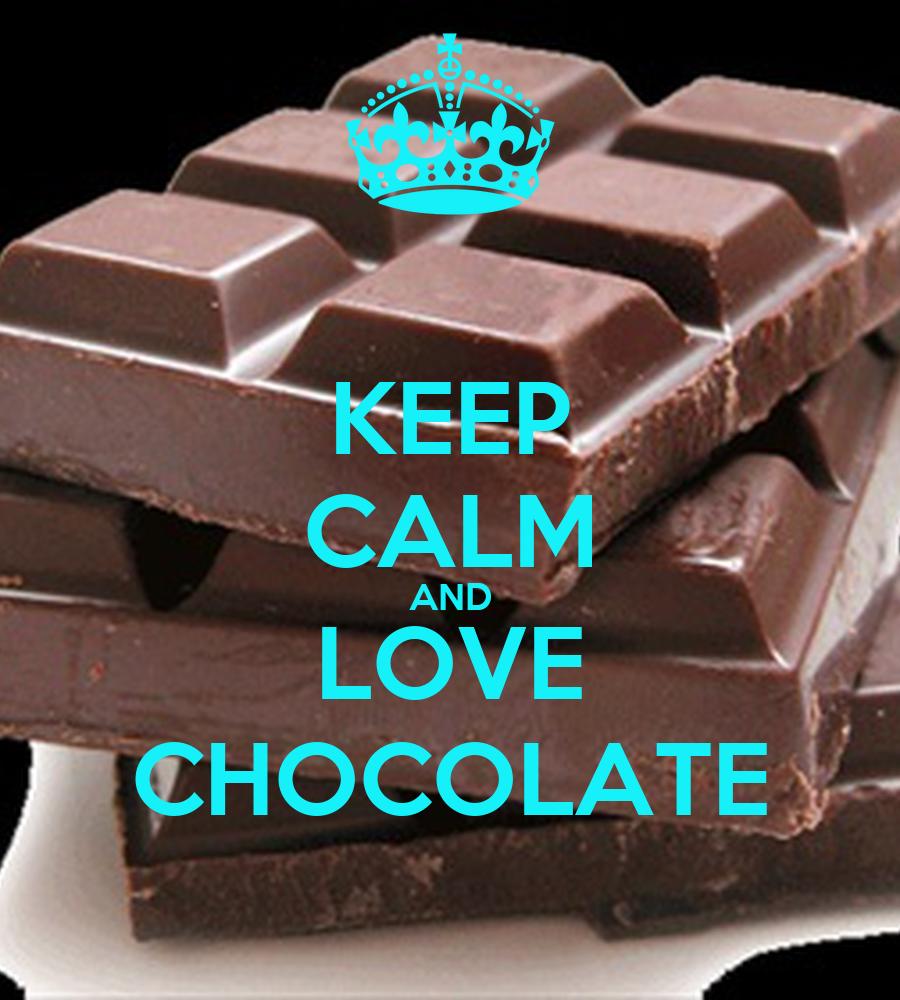 KEEP CALM AND LOVE CHOCOLATE Poster | ASIA | Keep Calm-o-Matic
