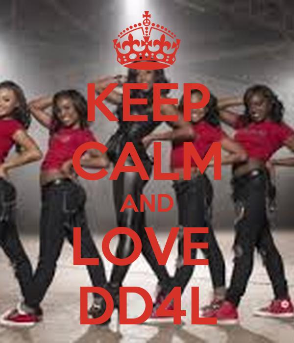 L Love U Bart U A Bby: KEEP CALM AND LOVE DD4L Poster