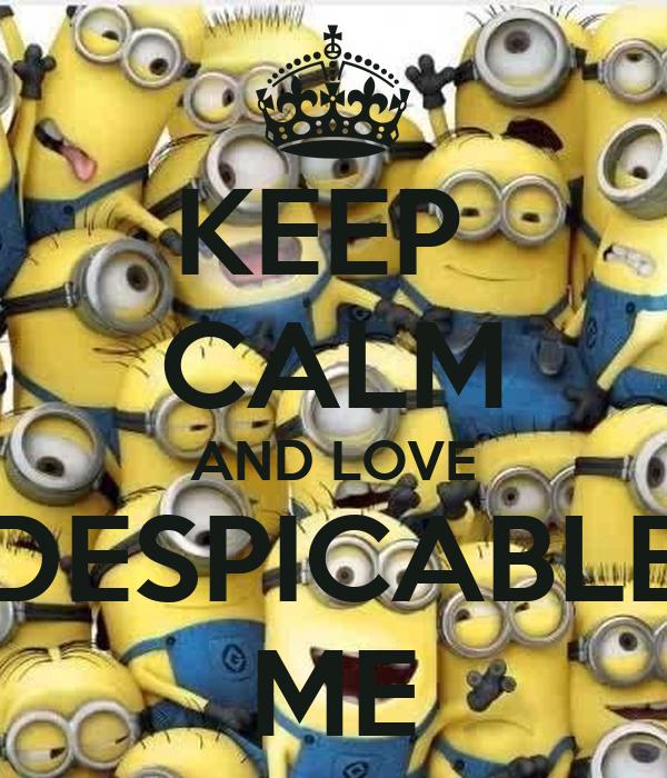 Despicable me love