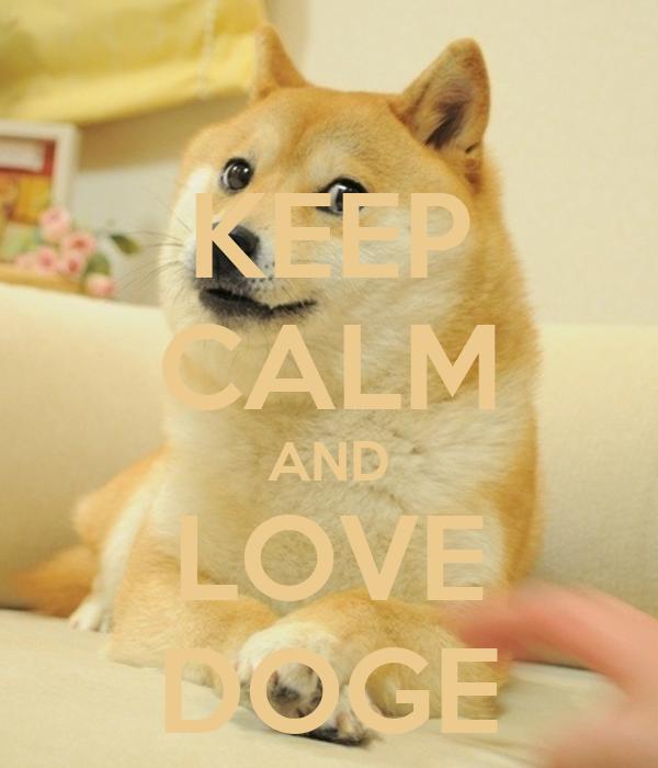 doge i love you