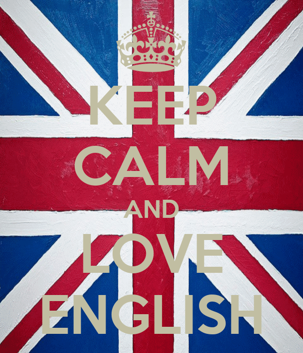 KEEP CALM AND LOVE ENGLISH - KEEP CALM AND CARRY ON Image Generator