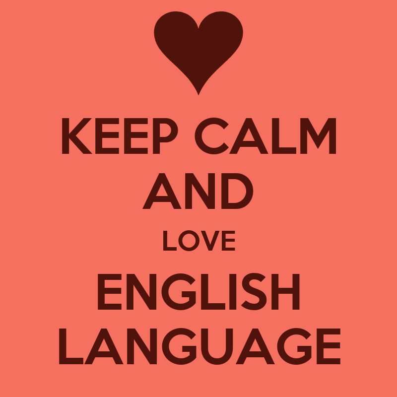 KEEP cALM AND LOVE ENGLISH LANGUAGE Poster super miyuki ...
