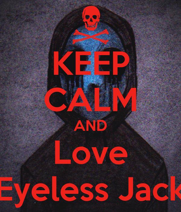 Eyeless Jack Wallpaper
