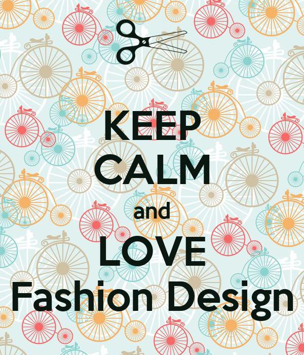 Keep Calm And Love Fashion Design Poster Len Keep Calm