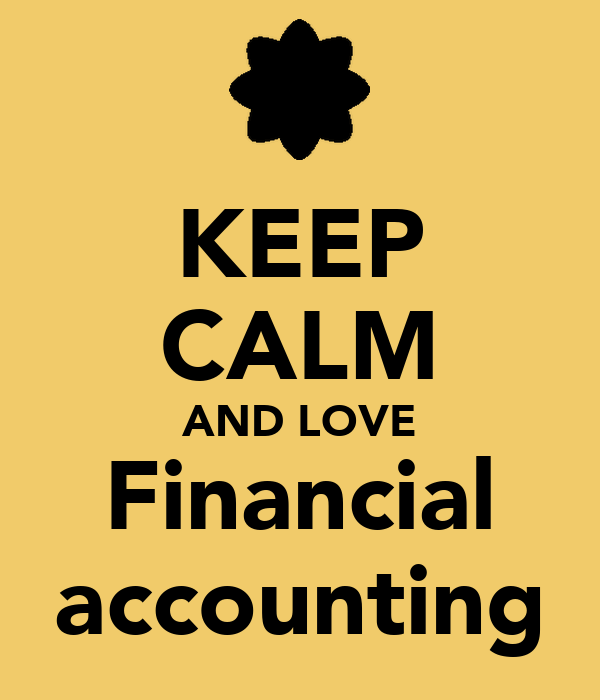 Keep Calm And Love Financial Accounting Poster Anastasia Keep