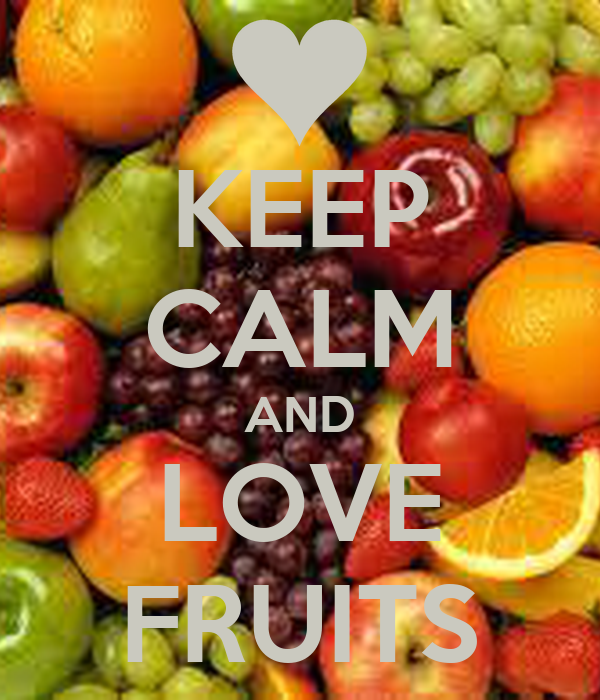 keep calm and love fruits poster h keep calm o matic
