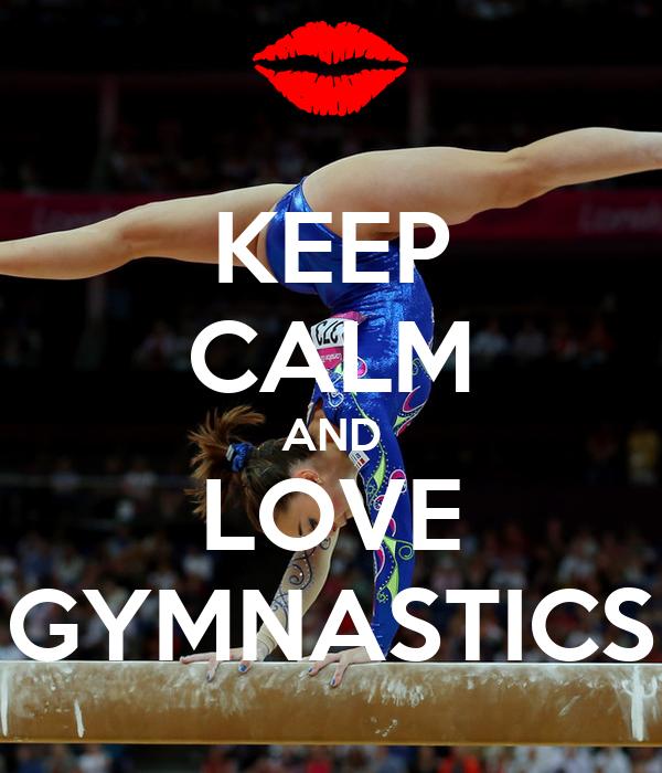 KEEP CALM AND DO GYMNASTICS Poster | ola | Keep Calm-o-Matic  |Keep Calm Gymnastics