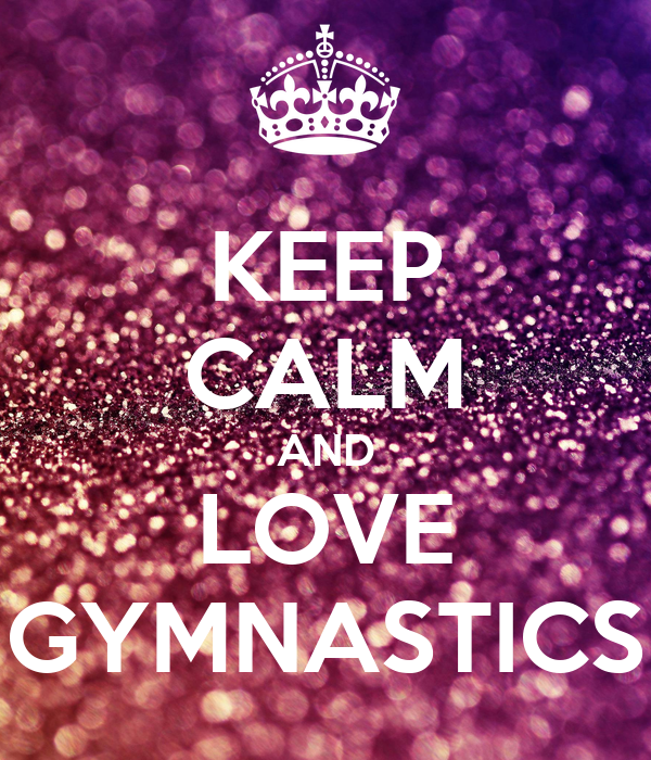 Free Keep Calm And Do Gymnastics Wallpaper