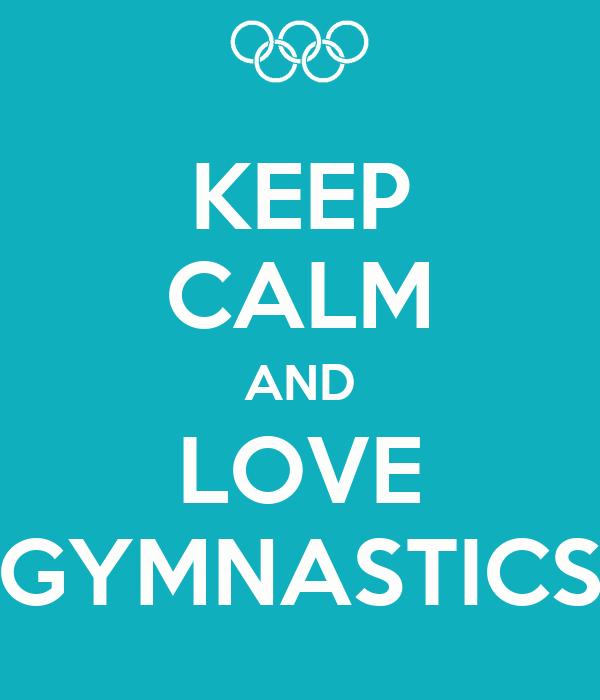 KEEP CALM I'M A GYMNAST Poster | wwsbnw | Keep Calm-o-Matic  |Keep Calm Gymnastics