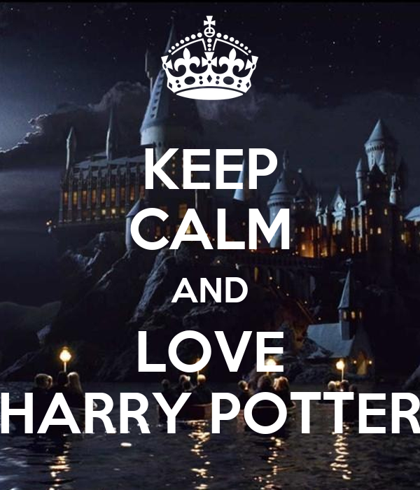 keep calm and love harry potter poster hermione granger