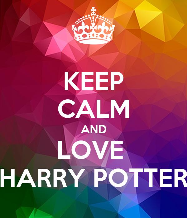 keep calm and love harry potter poster sweetalex keep