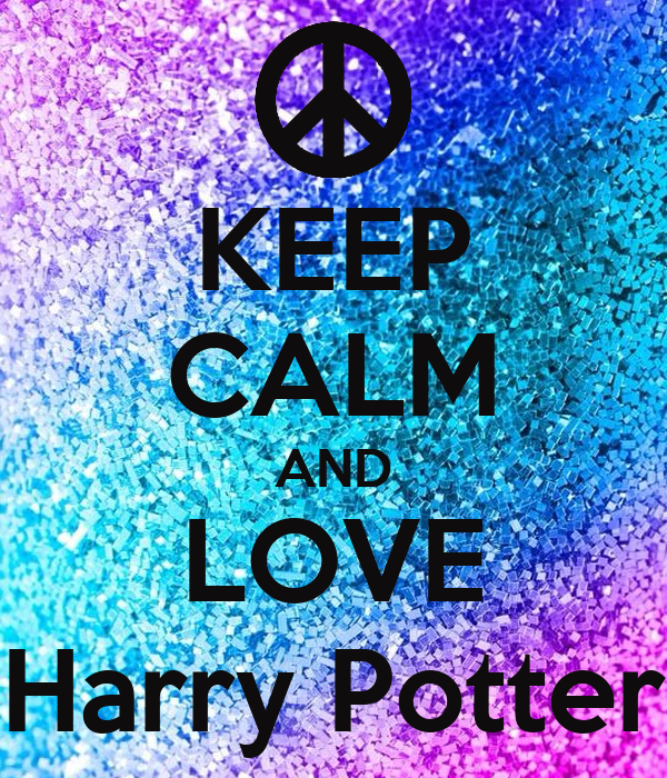 keep calm and love harry potter poster manasvi keep
