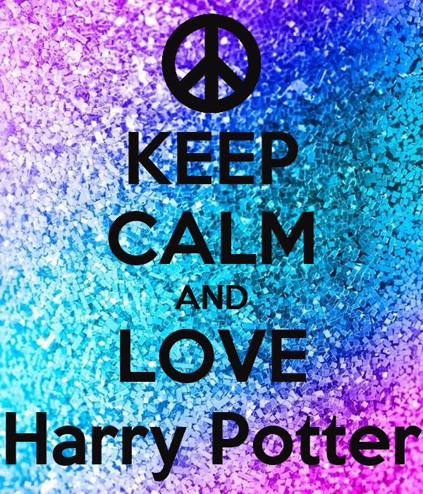 keep calm and love harry potter poster manasvi keep