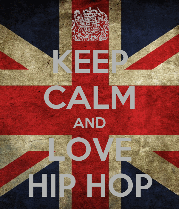 KEEP CALM AND LOVE HIP HOP Poster | Booooo | Keep Calm-o-Matic