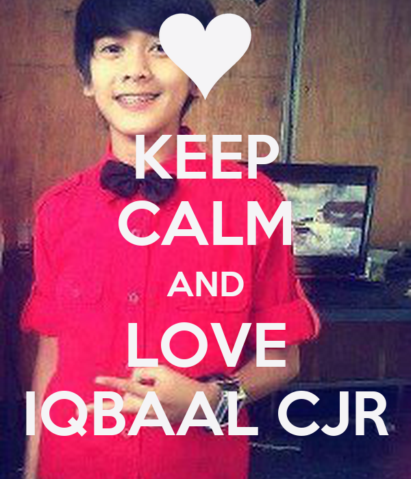 Keep Calm And Love Cjr Carry Image Generator Foto Artis