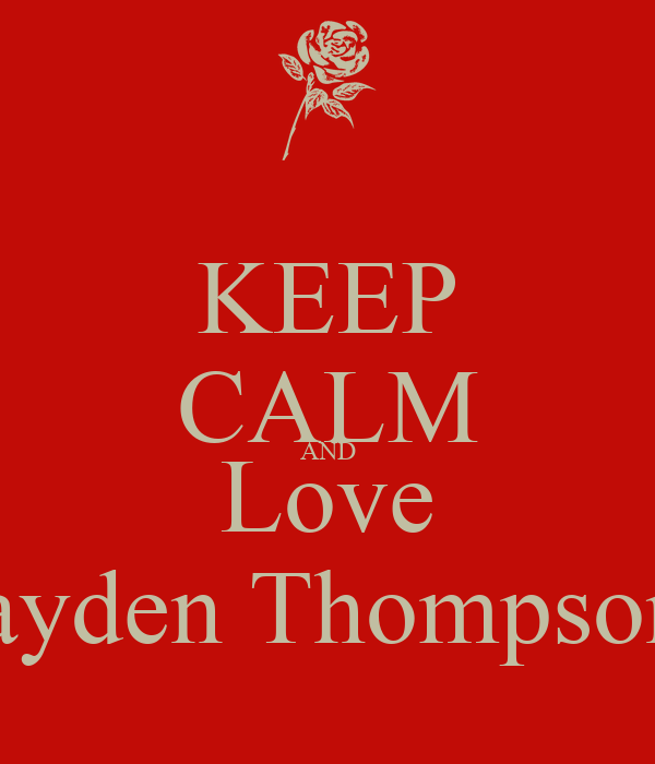 Jayden thompson