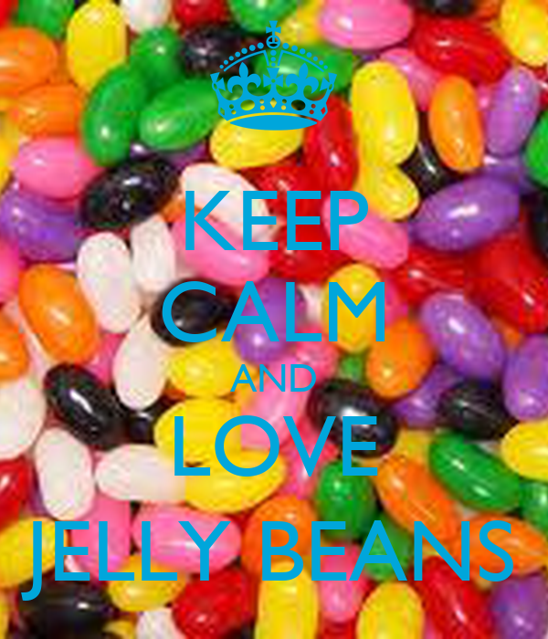 Love Jelly Wallpaper : KEEP cALM AND LOVE JELLY BEANS - KEEP cALM AND cARRY ON Image Generator