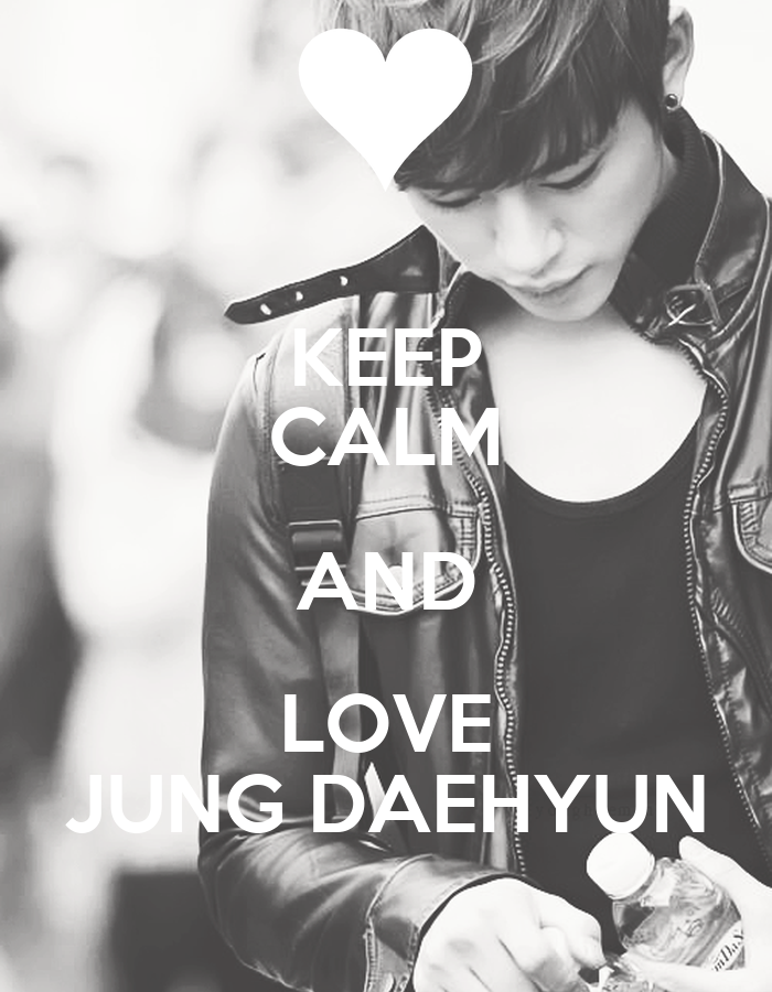 Daehyun Iphone Wallpaper Calm And Love Jung Daehyun