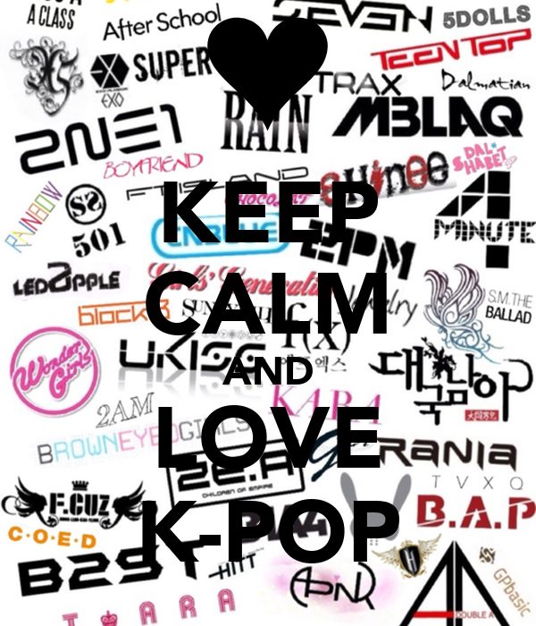 KEEP CALM AND LOVE K-POPKeep Calm And Love Kpop Shirt