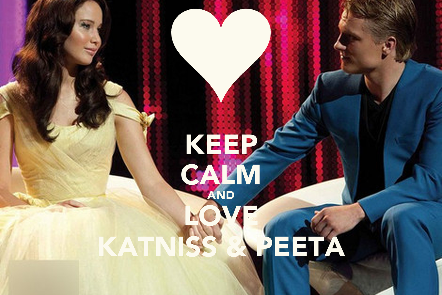 keep calm and love katniss amp peeta poster yujin keep