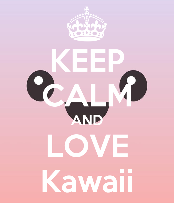 Wall stickers unicorn - Keep Calm And Love Kawaii Keep Calm And Carry On Image