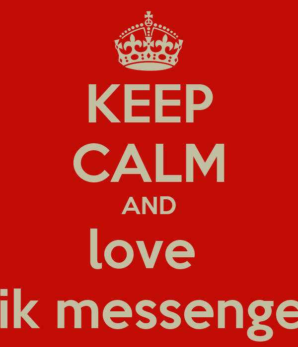 in love messenger: