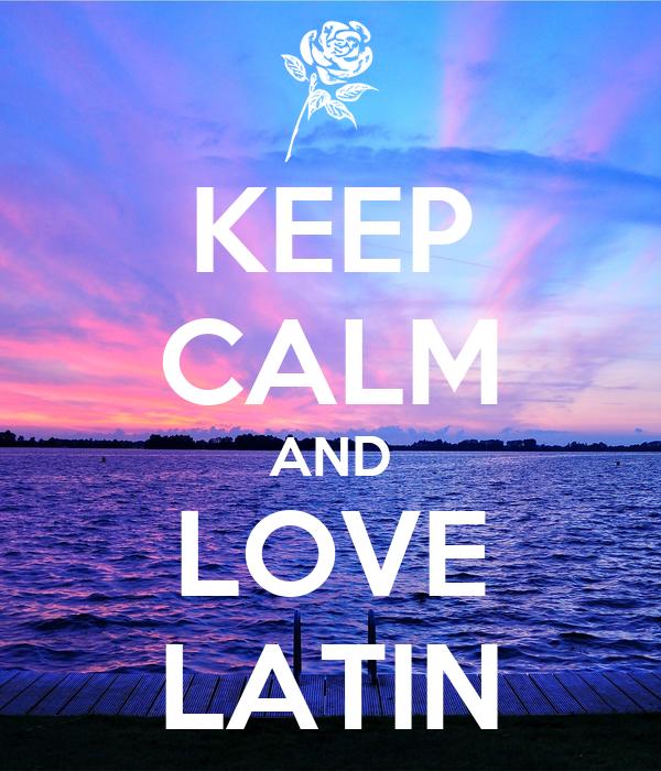 I latins love