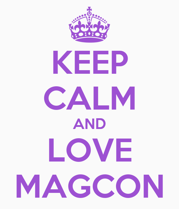 KEEP CALM AND LOVE MAGCON - KEEP CALM AND CARRY ON Image Generator