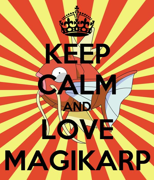 Resultado de imagem para magikarp love